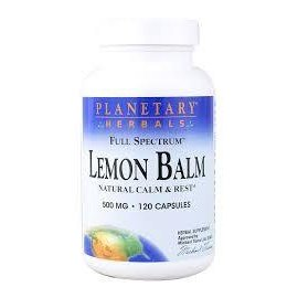 PLANETARY HERBALS Lemon Balm Full Spectrum 500mg 60c
