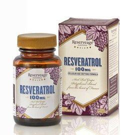 RESERVEAGE ORGANICS Resveratrol 100mg 60v