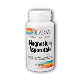 SOLARAY - NUTRACEUTICAL Magnesium Asporotate 60c
