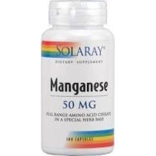 SOLARAY - NUTRACEUTICAL Manganese 50mg 100c