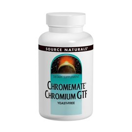 SOURCE NATURALS Chromemate 200mcg 60t