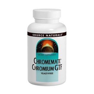 SOURCE NATURALS Chromemate 200mcg 60t