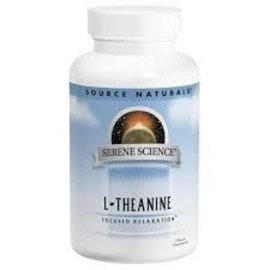 SOURCE NATURALS L-Theanine 200mg 60c