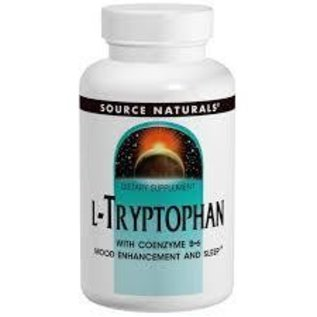 SOURCE NATURALS L-Tryptophan 500mg 120c