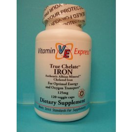 VITAMIN EXPRESS True Chelate Iron (Albion) 125mg 120v