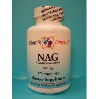 VITAMIN EXPRESS NAG N-Acetyl Glucosamine 500mg 120c Vitamin Express