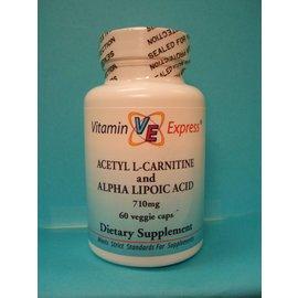 Acetyl L-Carnitine w/Alpha Lipoic Acid 60v