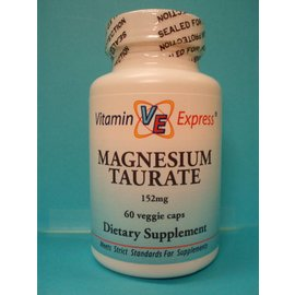 VITAMIN EXPRESS Magnesium Taurate 60v
