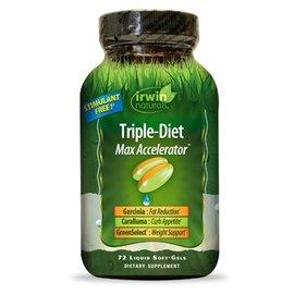 IRWIN NATURALS Triple-Diet 72sg