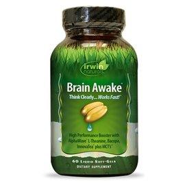 IRWIN NATURALS Brain Awake 60sg