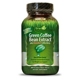 IRWIN NATURALS Green Coffee Bean Extract 60sg DISCO