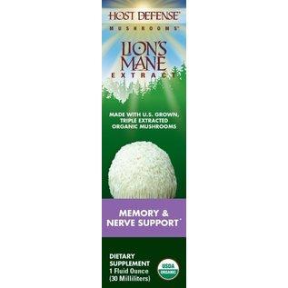 FUNGI PERFECTI, LLC Host Defense Lion's Mane 1oz