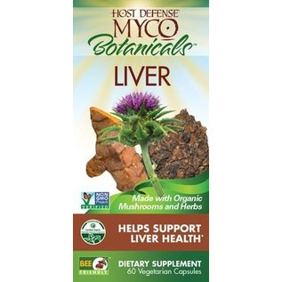 FUNGI PERFECTI, LLC Host Defense MycoBotanicals Liver 60v