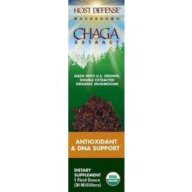 FUNGI PERFECTI, LLC Host Defense Chaga Extract 1oz