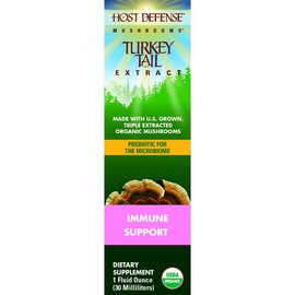 FUNGI PERFECTI, LLC Host Defense Turkey Tail Extract 1oz