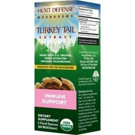 FUNGI PERFECTI, LLC Host Defense Turkey Tail Extract 2oz