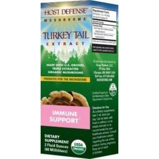 FUNGI PERFECTI, LLC Host Defense Turkey Tail Extract 2oz