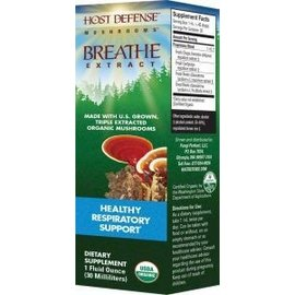 FUNGI PERFECTI, LLC Host Defense Breathe 2oz