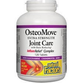 NATURAL FACTORS OsteoMove 240t