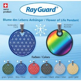 RAYGUARD RayGuard Silver Flower of Life Pendant