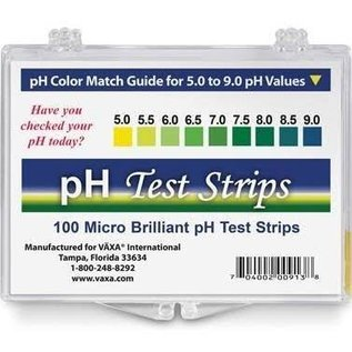 Vaxa pH Test Strips 100ct
