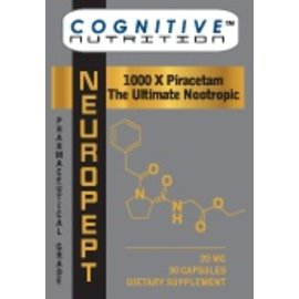 COGNITIVE NUTRITION NeuroPEPT 60c
