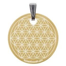 RAYGUARD RayGuard Gold Flower of Life Pendant