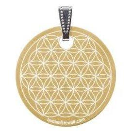 RAYGUARD RayGuard Gold Flower of Life Pendant