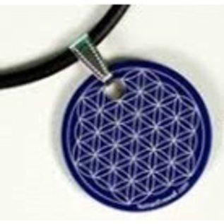 RAYGUARD RayGuard Blue Flower of Life Pendant