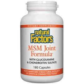 NATURAL FACTORS Natural Factors MSM Joint Formula 180 capsules -Vitamin Express