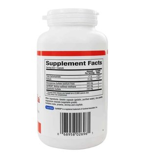 NATURAL FACTORS Natural Factors MSM Joint Formula 180 Capsules - Vitamin Express