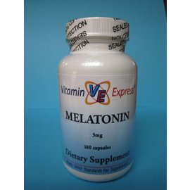 VITAMIN EXPRESS Melatonin 3mg 180 Capsules