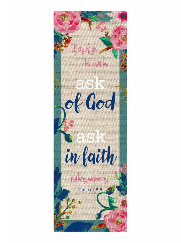Popcorn Tree 2017 LDS Mutual Theme Bookmarks - Flowers, 6ct