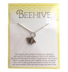 Popcorn Tree Beehive Necklace