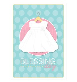Ringmasters Card & Envelope - Baby Girl Blessing Day