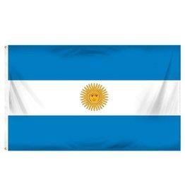 Popcorn Tree Flag - Argentina 3'x5'