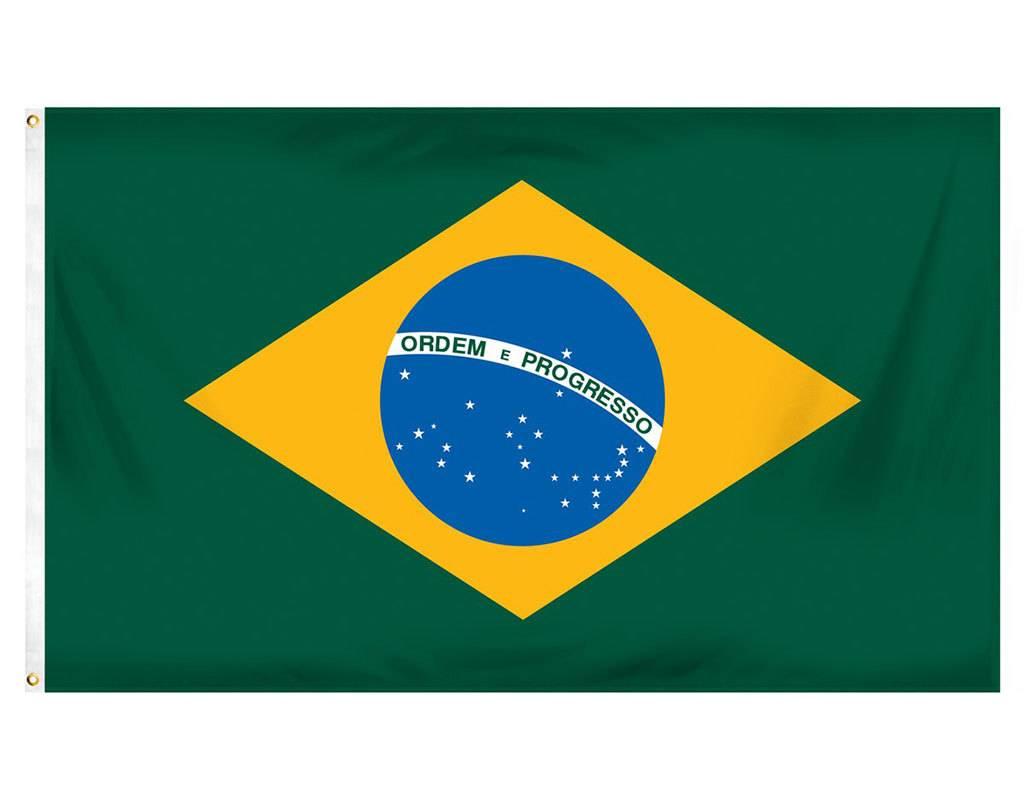Online Stores Flag - Brazil 3'x5'
