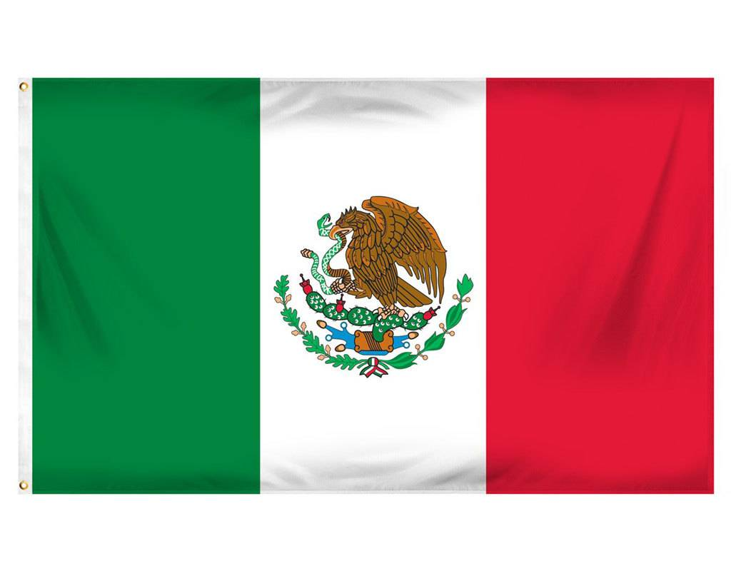Online Stores Flag - Mexico 3'x5'