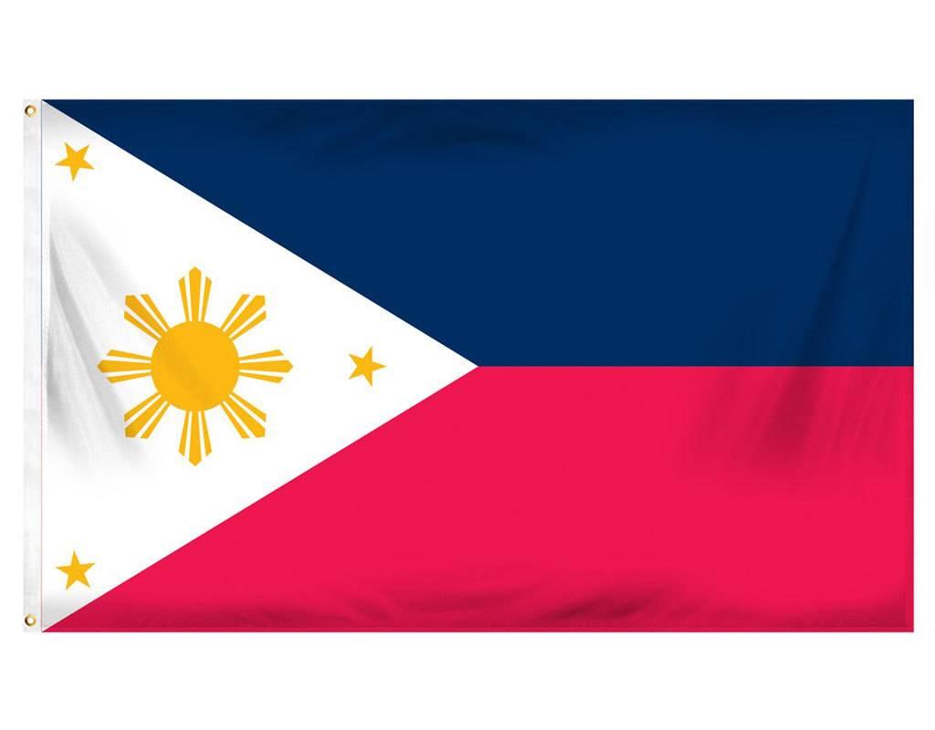 Popcorn Tree Flag - Philippines 3'x5'