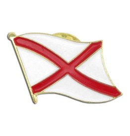 Online Stores Lapel Pin - Alabama Flag