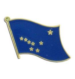 Online Stores Lapel Pin - Alaska Flag