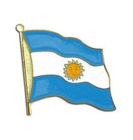 Online Stores Lapel Pin - Argentina Flag