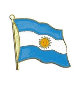 Popcorn Tree Lapel Pin - Argentina Flag
