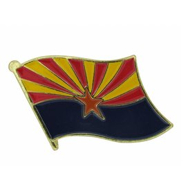 Online Stores Lapel Pin - Arizona Flag