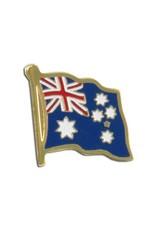 Popcorn Tree Lapel Pin - Australia Flag