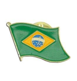 Online Stores Lapel Pin - Brazil Flag