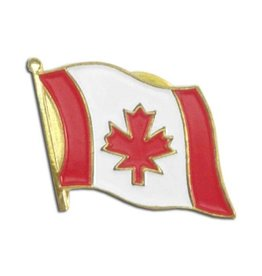 Online Stores Lapel Pin - Canada Flag