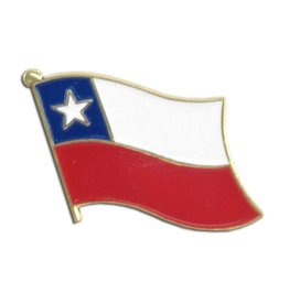 Online Stores Lapel Pin - Chile Flag