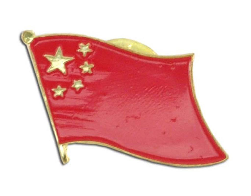 Online Stores Lapel Pin - China Flag