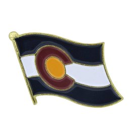 Online Stores Lapel Pin - Colorado Flag